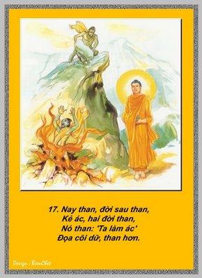 Lời Phật Dạy - Kinh Pháp Cú 17