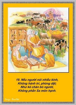 Lời Phật Dạy - Kinh Pháp Cú 19
