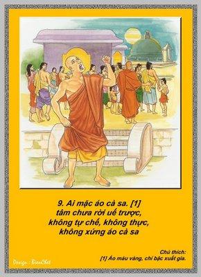 Lời Phật Dạy - Kinh Pháp Cú 9